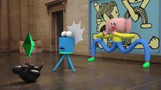 Take the Jack Sachs animated tour of the Tate Britain, and meet his odd CG characters along the way.