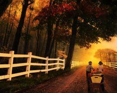 """Late Home"": By Ann Wehner Digital Artistry"
