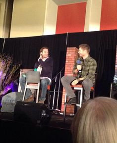 "RT @Dsuperfan99 ""@FangasmSPN: .@JensenAckles : I set 'em up you knock Em down bro! #chicon @jarpad """