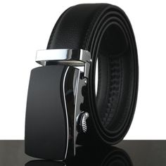 >> Click to Buy << New automatic buckle recreational men belt Leather belts 100cm-130cm belts for men free shipping #Affiliate