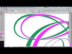 Using the Width Tool in Illustrator to create letters - YouTube