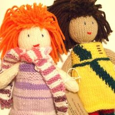 Nana Gina Doll Collection:  Pop up shop open till (and including) 6th May - all proceeds to Rape and Sexual Violence Project - #Birmingham  #craft  #dolls #knitted **Dolls with unique personalities, clothes, and accessories.**
