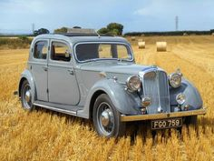 1938 Rover 12 'Sportsman' - 4 light saloon