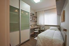 móveis planejados quarto de solteiro fotos - 7