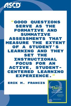 By using this book to fine-tune your approach to questioning, you can awaken the spirit of inquiry in your classroom and help students deepen their knowledge, understanding, and ability to communicate what they think and know.