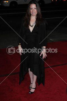 Holly marie combs au théâtre chinois, « cela signifie la guerre » la création de los angeles, hollywood, ca 09/02/12 — Image #14349671