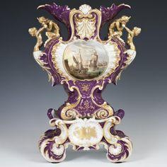 Antique Jacob Petit Porcelain Vase