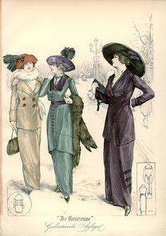 [De Gracieuse] Tailleurkostumes (January 1913)