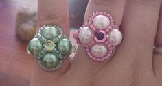 Madame beaded ring