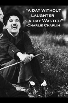 One of my favorite quotes of all time by the one and only Charlie Chaplin.