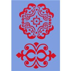 """This Show-Offs Home Decor Icon I Decorative Stencil can be used with acrylic or latex paints, spray paints, stains, chalks and inks. Apply the stencils to many of your art and craft projects.    Package contains one 7"""" x 10"""" stencil sheet."""