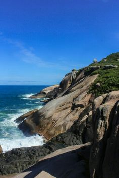 Praia do Gravatá, Florianópolis, Brazil