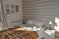 Striped Wall Painting Design Ideas, Pictures, Remodel and Decor