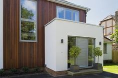 modern front entrance extension - Google Search