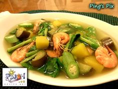 Laswa is a popular Ilonggo vegetable soup, it is the equivalent of Bulanglang from Batangas and Dinengdeng from Ilocos region.    Read more: http://www.pinoyrecipe.net/laswa-recipe/
