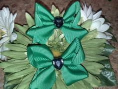 Create your own set - For Your Cutesy Girls St. Patrick's Day Hair Clip Set