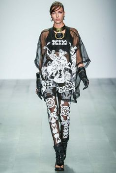 KTZ Spring 2015 Ready-to-Wear - Collection - Gallery - Look 1 - Style.com