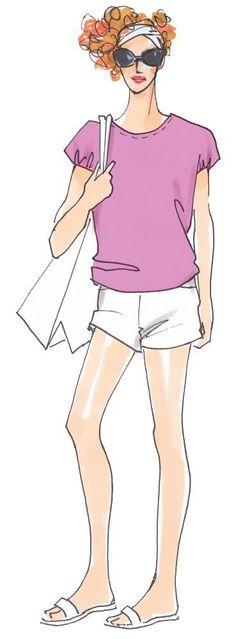 Cooles Shirt mit tollem Rückenausschnitt Einzel- und Mehrgrößenschnitt 34-50