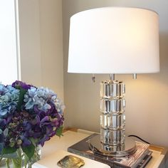 Alice Lane Home Collection   Crystal lamp