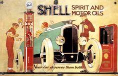 Shell: Your car deserves them both!