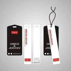 China Manufacturer Garment Hang Tag With Plastic Seal Tag