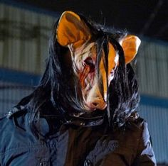 Pig from Saw Movies Slasher Movies, Horror Movie Characters, Best Horror Movies, Horror Films, Scary Movie Mask, Saw Series, Jigsaw Saw, Amanda Young, Movies