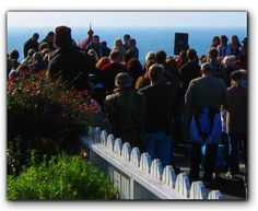 Every November: Blessing of the Fleet in Trinidad, CA.  Mark your calendar!  Thanksgiving morning, the Blessing of the Fleet ceremony in Trinidad is a wonderful event.