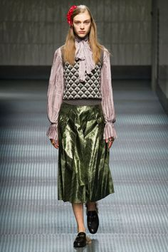 Gucci (love the skirt!)
