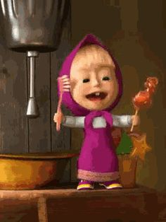 Маша - анимация на телефон от povig28 №1196855 Cartoon Gifs, Cute Cartoon, Masha And The Bear, Boss Baby, Line Friends, Gif Pictures, Cute Images, Cute Gif, Cute Illustration