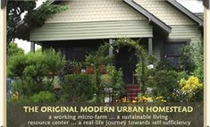 Urban Homesteading - VERY cool link to video on a family that lives off the grid in the city!