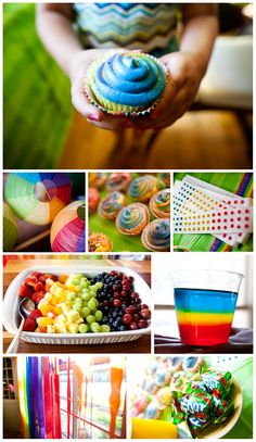 Rainbow birthday party!   http://markhawkinsphoto.com