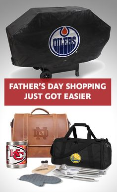 Perfect gifts for Dad!  We make shopping for Father's Day EASY!  Shop our store to find Dad's favorite team merchandise.