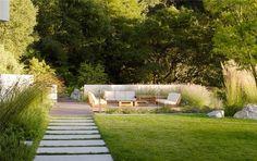 Modern Backyard Ideas  Backyard Landscaping  Bernard Trainor + Associates  Monterey, CA