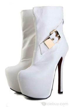 2e45e437f6a Onlineshoe Peep Toe Stiletto Concealed Platform High Heel Shoes ...