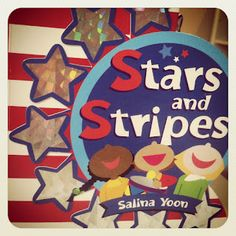 Stars and Stripes book exchange for LOVE BOOKS by The Vincent Family created by Growing Book by Book