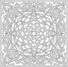Difficult Optical Illusion Coloring Pages for Older Kids - Enjoy Coloring