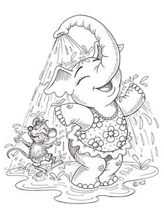 Elephant Coloring Pages Free Printable. Elephants are the largest mammals on earth. The most obvious thing that distinguishes it from other animals is its wide ears, incisors that grow outwa. Pokemon Coloring Pages, Cute Coloring Pages, Disney Coloring Pages, Animal Coloring Pages, Free Printable Coloring Pages, Coloring Pages For Kids, Coloring Books, Coloring Sheets, Elephant Coloring Page
