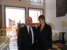 Paola Cortellesi guest at the Golden Tower Hotel #Florence #Tuscany #Italy