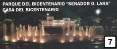 """PARQUE DEL BICENTENARIO """"SENADOR O. LARA"""" CASA DEL BICENTENARIO.    Dueño de un diseño arquitectonico innovador, el parque posee un paseo con fuentes de agua, monumentos, escalinatas y un importante skate park como principales atractivos, ademas de la Casa del Bicentenario. Espacio dedicado a la proyección cultural.    La casa cuenta con un hall central, salas, deposito, camarines, taller, sanitarios, oficina, sala de proyección y un mirador."""