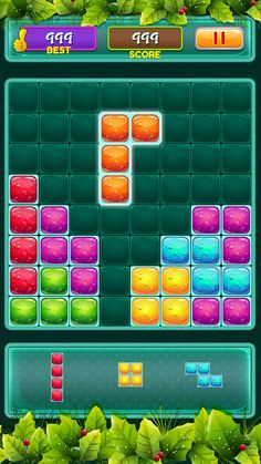 Block Puzzle Game, Match 3, Dice Games, Job Posting, Game Ui, Ui Kit, Mobile Game, Game Design, Unity