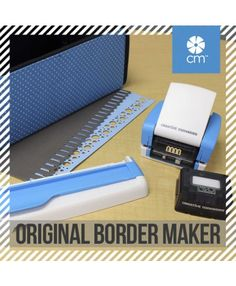 The Original Creative Memories Border Maker is back! Create sweet borders in a snap! Change cartridges for different designs. So Fun! #CreativeMemories
