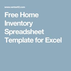inventory sheet sample free inventory template estate sale inventory template home inventory. Black Bedroom Furniture Sets. Home Design Ideas