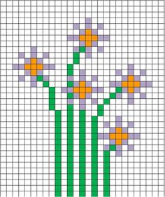 FREE SPRING CROSS-STITCH CHART