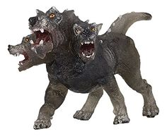 Buy Papo 38983 Cerberus of Darkness Toy Figure With Tag online Greek Mythological Creatures, Mythical Creatures, African Jungle Animals, Dinosaur Toys For Kids, Safari, Lightning Final Fantasy, Mystical Animals, Animal Action, Fantasy Figures