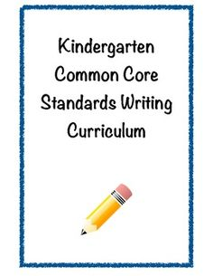 Yearlong plans and rubrics for teaching writing in Kindergarten. Common Core aligned!