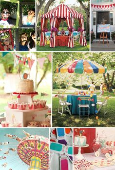 Carnival themed kid parties! All the rage!