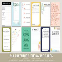 Image of 3x8 Adventure Journaling Cards (Digital)