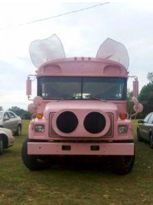 pig bus...I'm in hog heaven