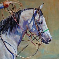 """Blue Sand"" - Originals - All Artwork - Sophy Brown Wildlife Paintings, Animal Paintings, Horse Paintings, Blue Horse, Horse Drawings, Equine Art, Western Art, Horse Art, Beautiful Horses"