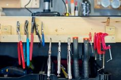Get (and keep) your workspace organized withthese genius DIY storage solutions.